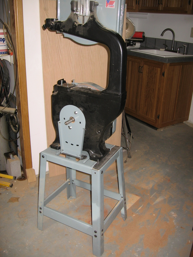 Delta Bandsaw--Modified Base