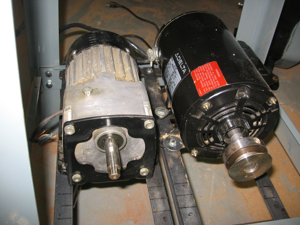 Delta Bandsaw--second motor for metal cutting