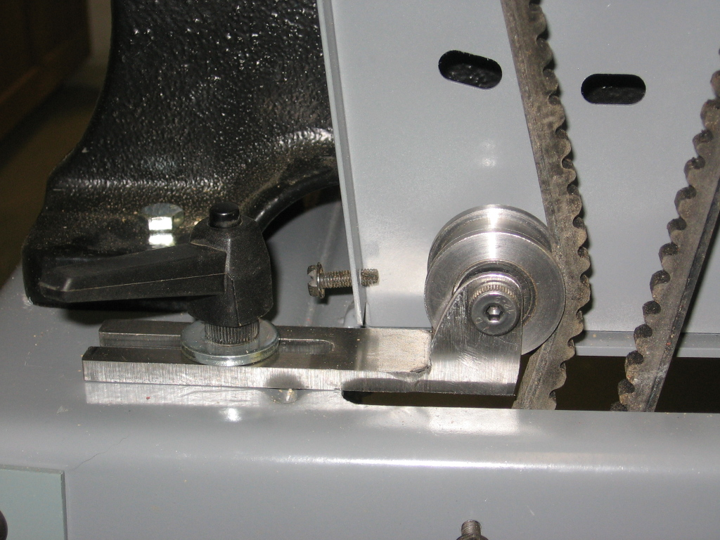 Delta Bandsaw-- belt tensioner