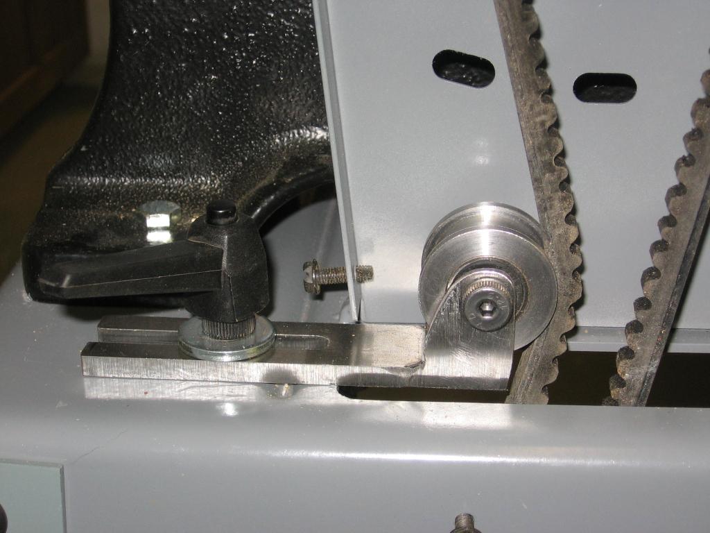Delta Bandsaw-- belt tensioner