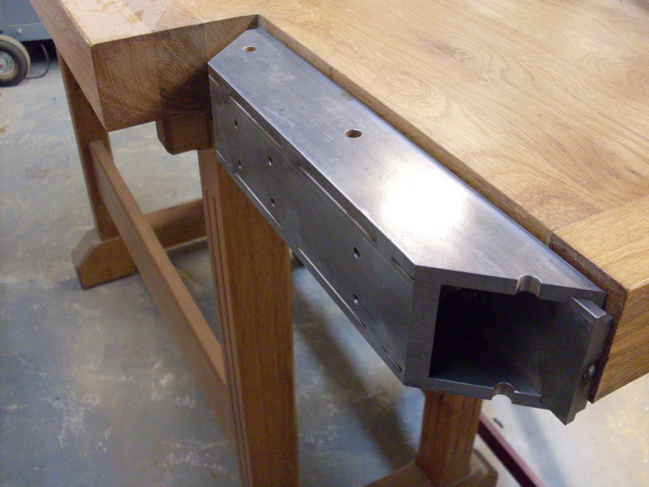 Shop Built Tail Vice Woodworking Talk Woodworkers Forum