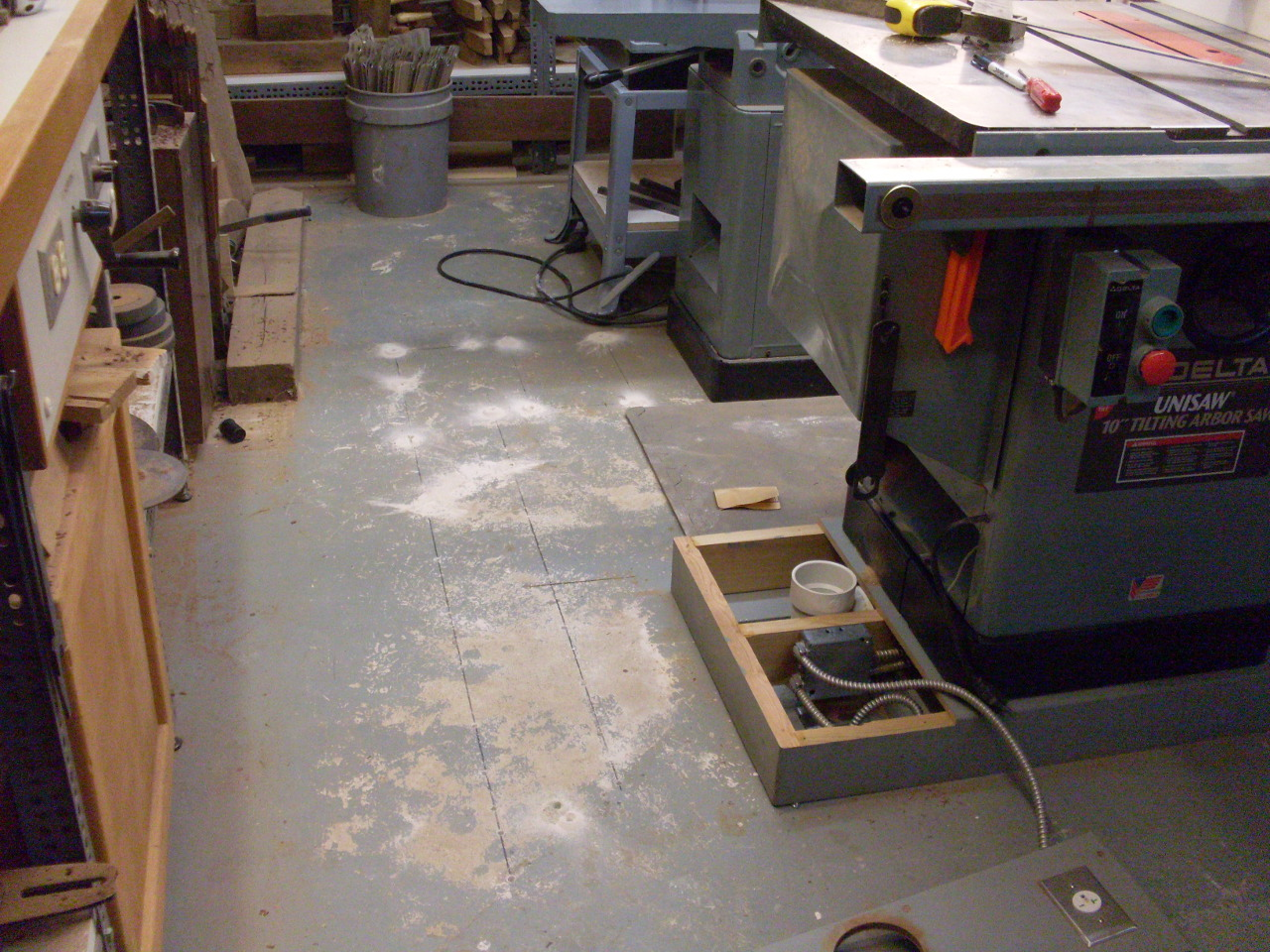 Under floor dust collection for How to clean concrete dust from floors