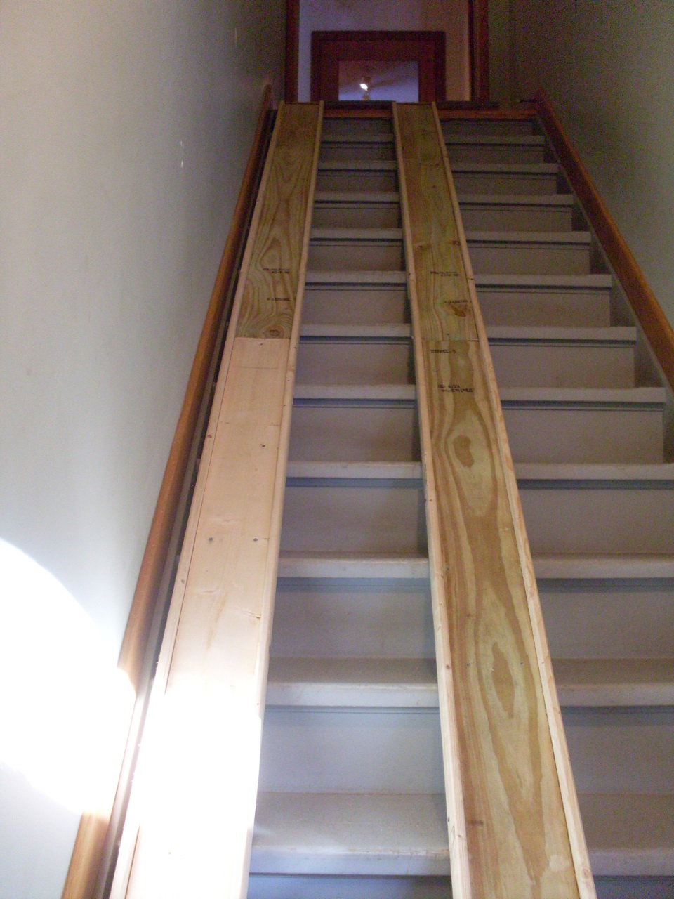 Incroyable Stair Pulley System Photos Freezer And Iyashix