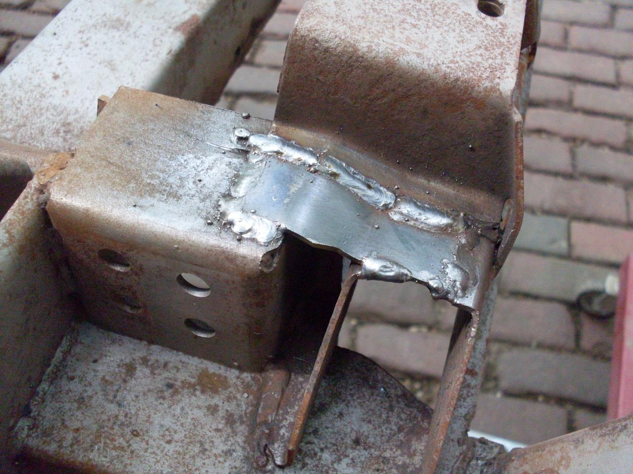 chassis reinforcement - tr6 forum - tr register forum